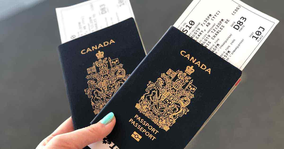 Hồ sơ xin hộ chiếu Canada