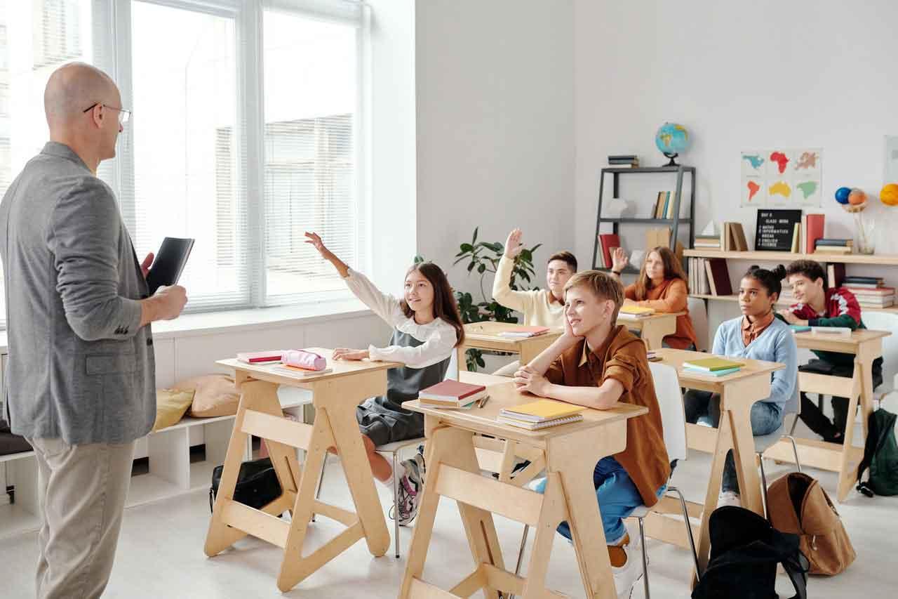 Nền giáo dục Canada hình ảnh lớp học
