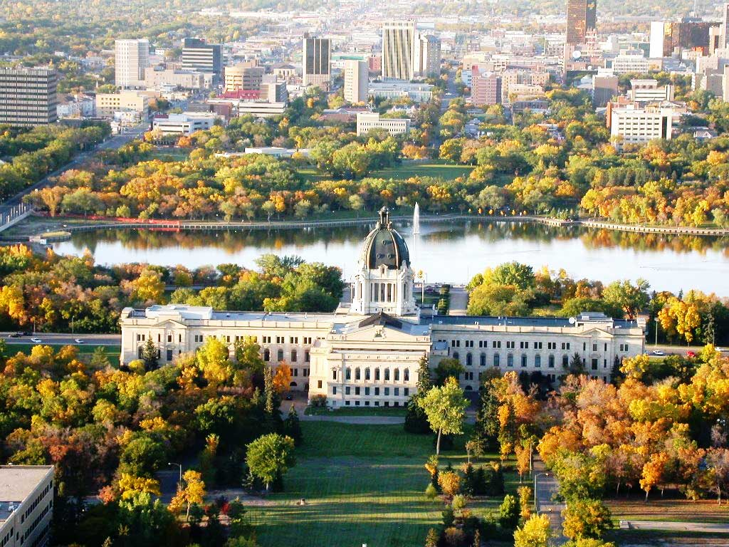 Những cảnh đẹp ở Canada Saskatchewan
