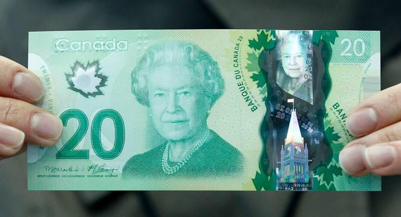 Tiền canada hôm nay đồng 20 dollar