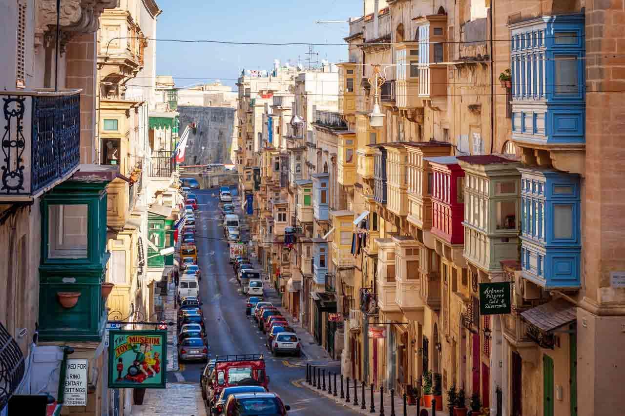 Xin visa Malta