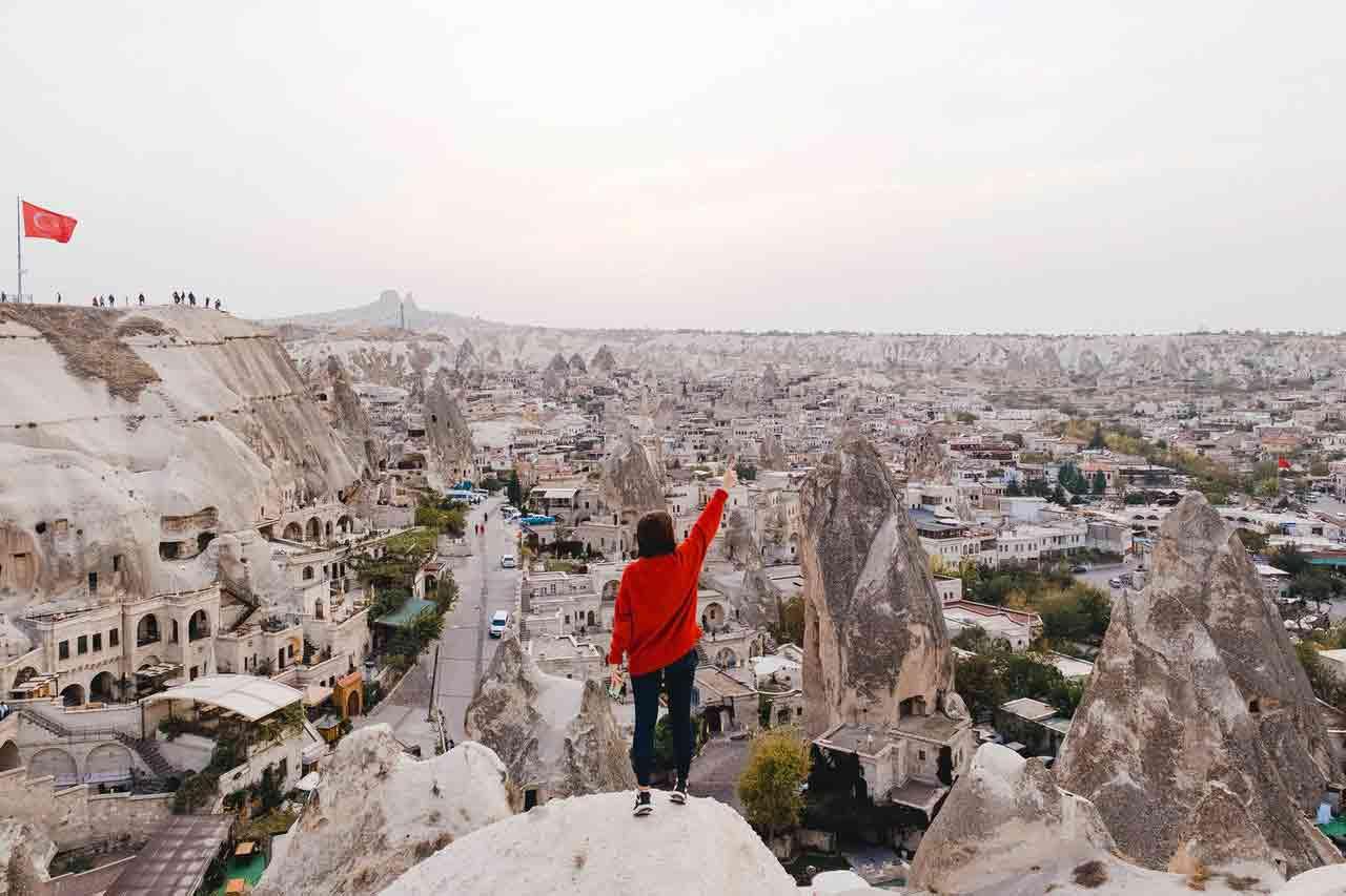 Những cảnh đẹp Thổ Nhĩ Kỳ Cappadocia