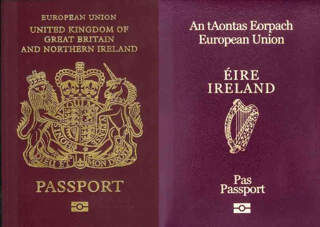 Sở hữu quốc tịch Ireland quyền lực